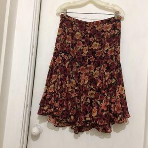 Dresses & Skirts - John Paul Richard womans PM sheer polyester skirt